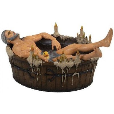 Witcher 3 - Geralt in the Bath Statue