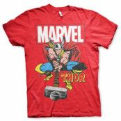 The Mighty Thor T-Shirt Röd