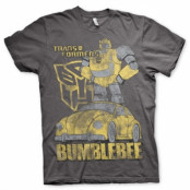 Bumblebee Distressed T-Shirt, Basic Tee