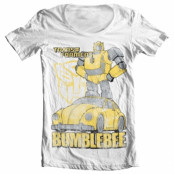 Bumblebee Distressed Wide Neck Tee , Wide Neck Tee