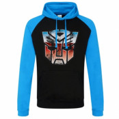 Distressed Autobot Shield Baseball Hoodie, Baseball Hooded Pullover
