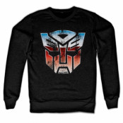 Distressed Autobot Shield Sweatshirt, Sweatshirt