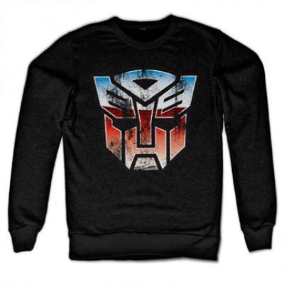 Distressed Autobot Shield Sweatshirt, Sweatshirt