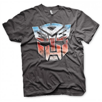 Distressed Autobot Shield T-Shirt, Basic Tee