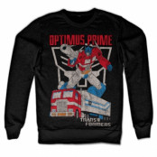Optimus Prime Distressed Sweatshirt, Sweatshirt