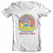 Optimus Prime Since 1984 Wide Neck Tee, Wide Neck T-Shirt