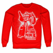 Optimus Prime Splatter Sweatshirt , Sweatshirt