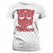 Retro Autobot Girly Tee, Girly Tee