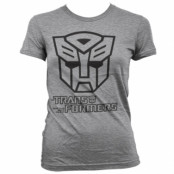 Transformers - Autobot Logo Girly Tee , Girly T-Shirt