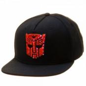Transformers Autobot Logo Snapback Cap, Adjustable Snapback Cap