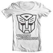 Transformers - Autobot Logo Wide Neck Tee, Wide Neck T-Shirt