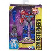 Transformers Cyberverse - Optimus Prime Deluxe Class (Maccadam BaF)