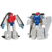 Transformers Earthrise War for Cybertron - Fuzer & Autobot Blast Master Micromaster