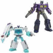 Transformers Generations Selects - Shattered Glass Ratchet and Optimus Prime