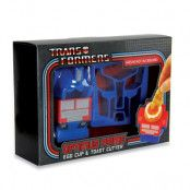 Transformers Optimus Prime Äggkopp & Toast-form