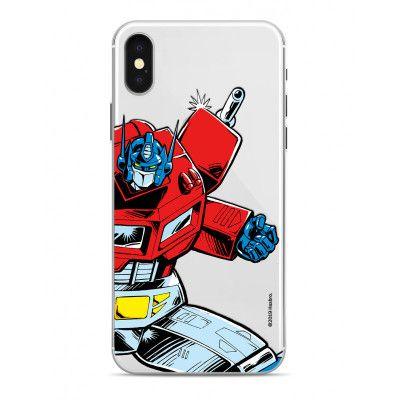 Transformers - Optimus Prime Transparent Phone Case