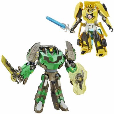 Transformers - Premium Bumblebee and Grimlock 2-Pack - Platinum Edition