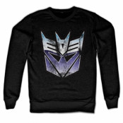 Distressed Decepticon Shield Sweatshirt, Sweatshirt