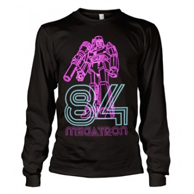 Megatron Neon 84 Long Sleeve Tee, Long Sleeve T-Shirt