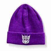 Transformers Decepticon Beanie, Knitted Beanie