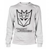 Transformers Decepticon Logo Long Sleeve Tee, Long Sleeve T-Shirt