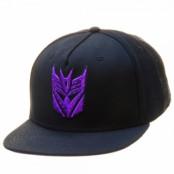 Transformers Decepticon Logo Snapback Cap, Adjustable Snapback Cap