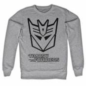 Transformers Decepticon Logo Sweatshirt, Sweatshirt