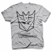 Transformers Decepticon Logo T-Shirt, Basic Tee