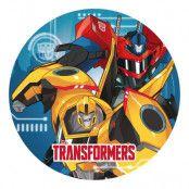 Papperstallrikar Transformers - 8-pack