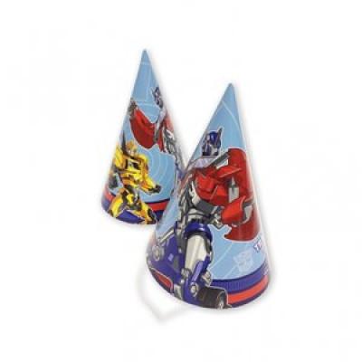 Partyhattar Transformers - 8 st