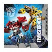 Servetter Transformers Prime 2-lags - 20 st