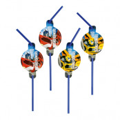 Sugrör Transformers 2 - 8-pack