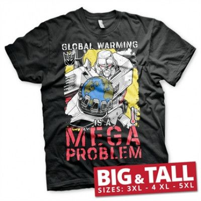 Transformers - Global Warming Big & Tall T-Shirt, Big & Tall T-Shirt