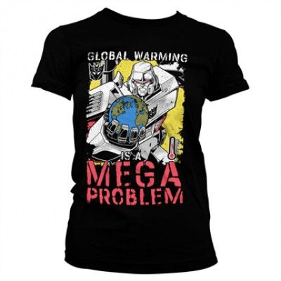 Transformers - Global Warming Girly Tee, Girly Tee