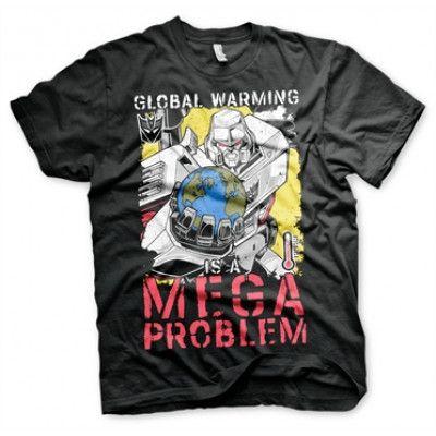 Transformers - Global Warming T-Shirt, Basic Tee