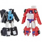 Transformers Siege War for Cybertron - Red Heat & Stakeout Micromaster