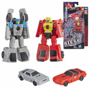 Transformers Siege War for Cybertron - Roadhandler & Swindler Micro Master