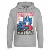 Transformers - Wear A Helmet Epic Hoodie, Epic Hooded Pullover