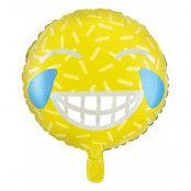 Emoji LOL Folieballong 45 cm
