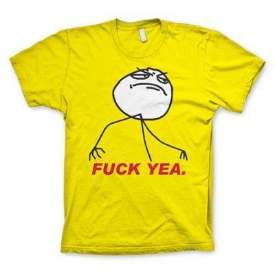 Fuck Yea. T-Shirt, Basic Tee