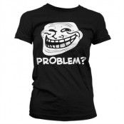 Trollface - Problem Girly T-Shirt, Girly T-Shirt