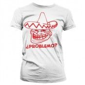 Trollface - ?Problemo? Girly T-Shirt, Girly T-Shirt