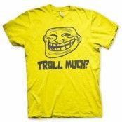 Trollface - Troll Much? T-Shirt, Basic Tee