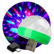 Mini USB Discolampa - 1-pack