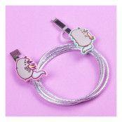 Pusheen USB-Laddare - Enhörning