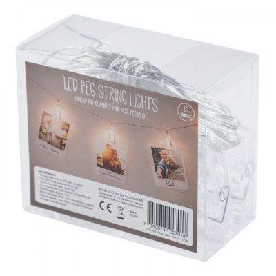 LED-slinga med Fotoklämmor