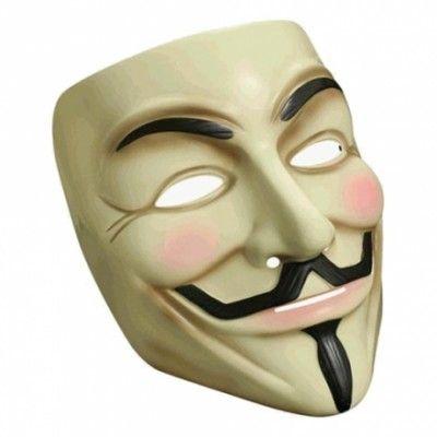 V For Vendetta Mask - One size