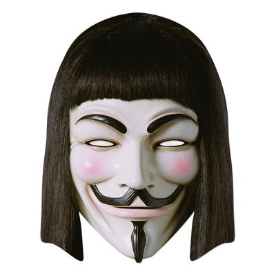 Guy Fawkes Pappmask - One size