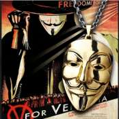 V For Vendetta Halsband
