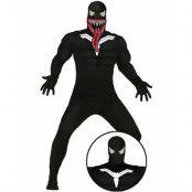Spider-Man Inspirerad Venom Herrkostym